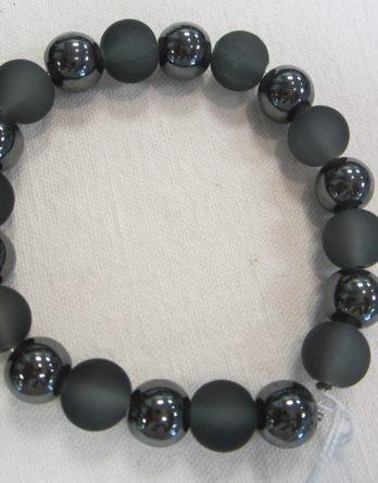 Bracelets d'Hématite