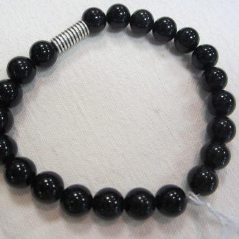 Bracelet d'Obsidienne noire